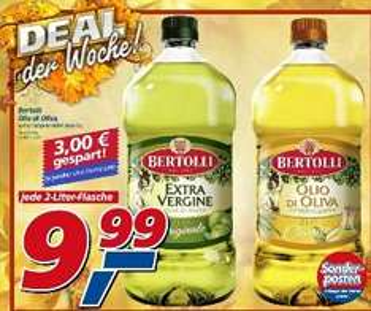 Real - Offline - Bertolli Olivenöl 2 Liter Flasche für 9,99 Euro
