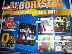 [Saturn] Diverse EA Titel für alle Systeme wie Battlefield 3, Fifa 13, Crysis 3, Army of Two und Dead Space 3 (ggf. nur Lokal in Berlin)