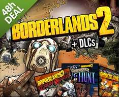 [Steam] Borderlands 2 DLCs / Ultimate Vault Hunter Upgrade Packs @ GMG