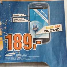 [lokal Saturn Baunatal] Samsung Galaxy S3 Mini