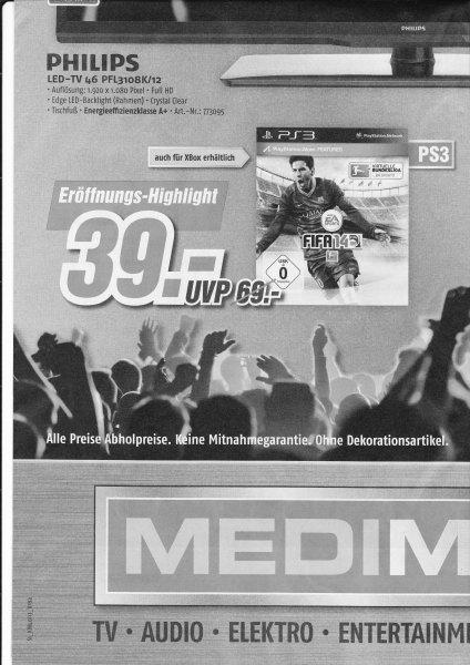 [Lokal Fulda] Fifa 14  PS3 und XBOX 360