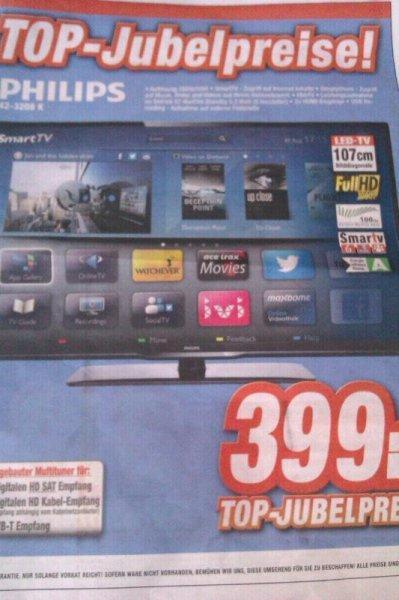 Philips 42PFL3208K Lokal Saturn Hannover