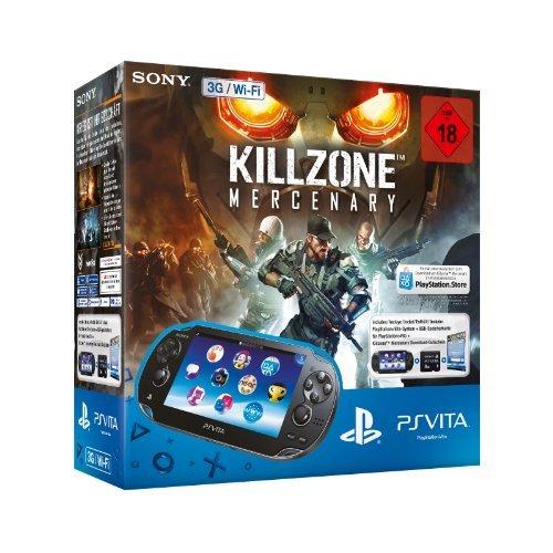 Sony PlayStation Vita (Konsole 3G/Wifi) Killzone Bundle