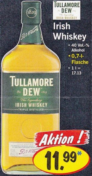 Tullamore Dew Irish Whiskey bei LIDL