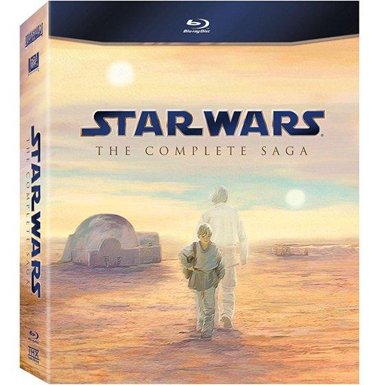 Star Wars: The Complete Saga [Blu-ray, 9 Discs] @amazon.co.uk