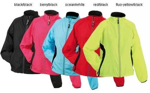 Damen Laufjacke von James & Nicholson für nur 7,47 EUR inkl. Versand [verschiedene Farben/Größen]