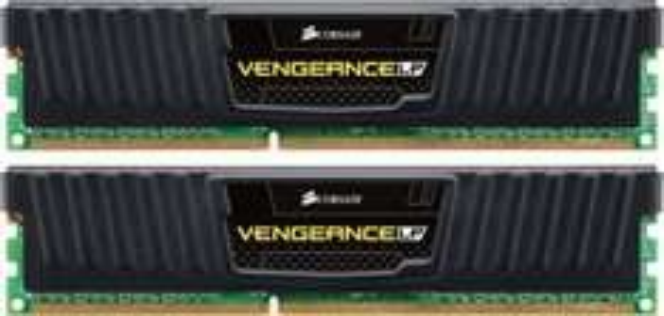 Corsair Vengeance Low Profile schwarz DIMM Kit 8GB, DDR3-1600, CL9-9-9-24 (CML8GX3M2A1600C9)