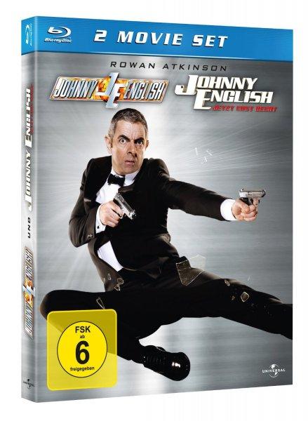 Johnny English 1 & 2 [Blu-ray] für 8,90 €  Amazon.de (Update) Bestpreis!