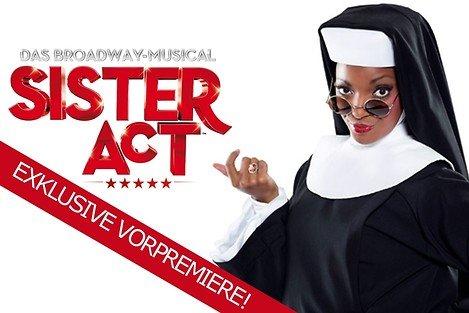 """(Radio Oberhausen) Tickets (Wert: 198€) für Vorpremiere """"Sister Act"""" zum ½ Preis"""