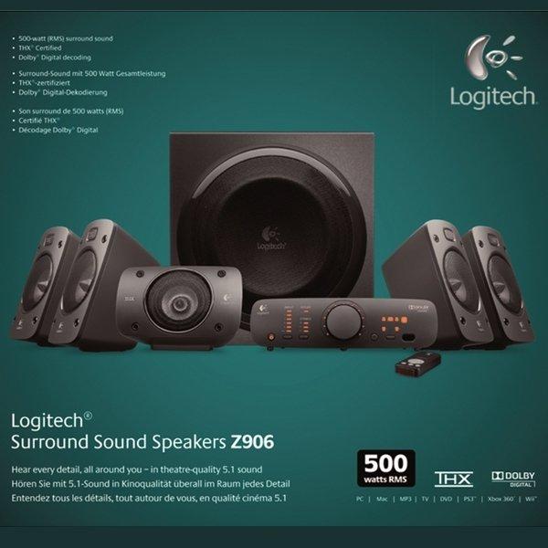 Logitech Z906  5.1 Soundsystem für 179,- Saturn Bremen City