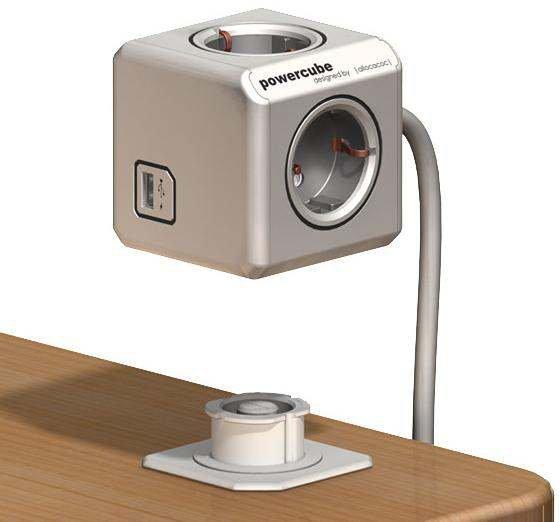 Segula 50455 Tischsteckdose Powercube Extended USB 1.5 m 15,29€ dank Amazon Visa-Gutschein