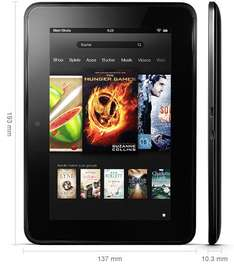 Kindle Fire HD 16GB bei amazon für 139€ / 32GB für 169€