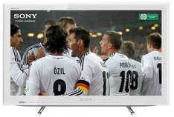 Sony KDL26EX555 66 cm (26 Zoll) LED-Backlight-Fernseher, EEK B (HD-Ready, 50Hz, DVB-T/C/S2, Internet TV) weiß [mit qipu 189,65 €, max. Ersparnis ggü. idealo.de (ab 331,90 €) damit ca. 43%]