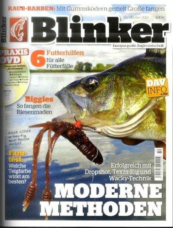 Blinker-für Angler- im Monatsabo für 7,40€ jährlich! ( Prämienabo)
