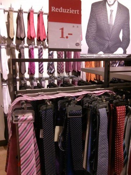 (Lokal Dortmund City) Krawatten bei C&A