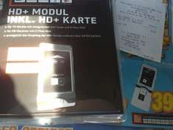 CI+ Modul inkl HD+ Karte für 12 Monate lokal Mediamarkt Fulda
