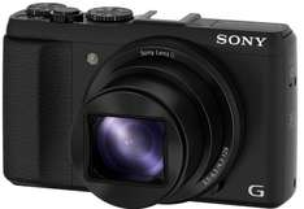 Sony DSC-HX50 Digitalkamera (20,4 Megapixel, 30-fach opt. Zoom, 7,6 cm (3 Zoll) LCD-Display, Full HD, WiFi) inkl. 24mm Sony G Weitwinkelobjektiv schwarz  für 285€ @Amazon