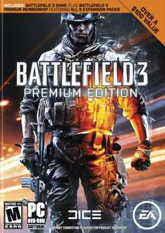 Battlefield 3: Premium Edition [Origin] für 15€ @Amazon.com