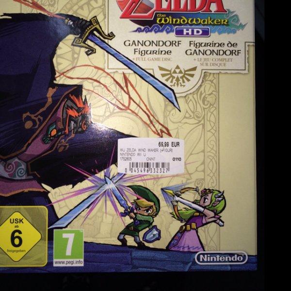 Zelda Nintendo Wii U Limited Edition