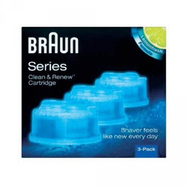 [CONRAD Online] Braun Clean & Renew CCR Reinigungskartuschen | 3er Pack für 10,89€, 4+1 Pack für 18,49€