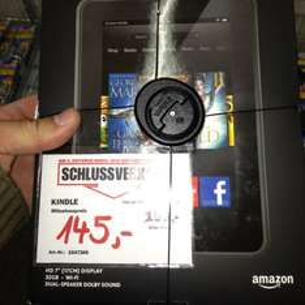 [Lokal] MM Castrop Kindle Fire HD 32GB f.145€