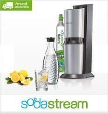 Sodastream Crystal, Trinkwassersprudler plus Glaskaraffe, 79,90 Euro @ limango