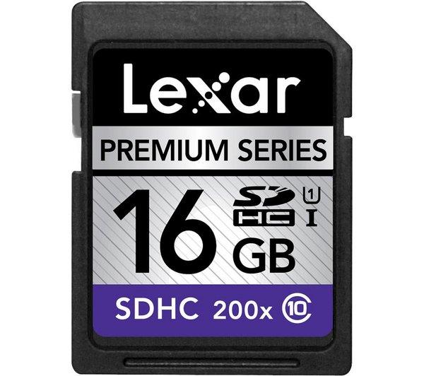 LEXAR 16GB SDHC Speicherkarte Class 10 für 10 Euro bei Mediamarkt in Hamburg