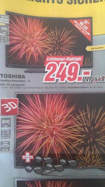 Lokal Toshiba LED-TV 32L1343DG