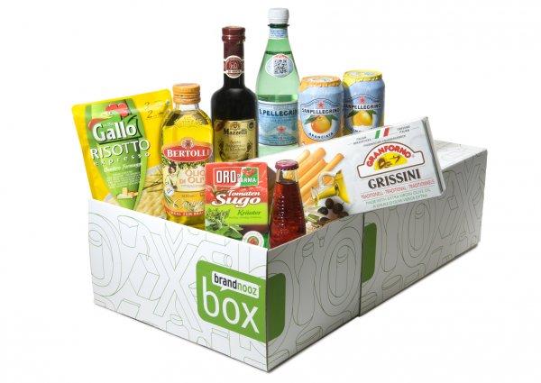 1 Brandnooz Cool Box + 1 Brandnooz Box für 9,99€