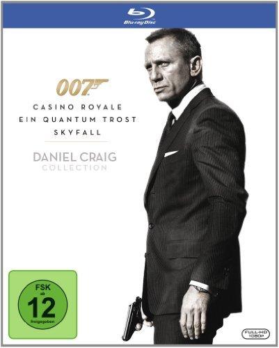 Daniel Craig 007 Collection [DE-Version] für 12,89€ inkl. VSK