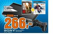 [Lokal Saturn Celle] Play Station 3 500GB + The last of us + Fifa 14  für 266,- (15% Ersparnis)