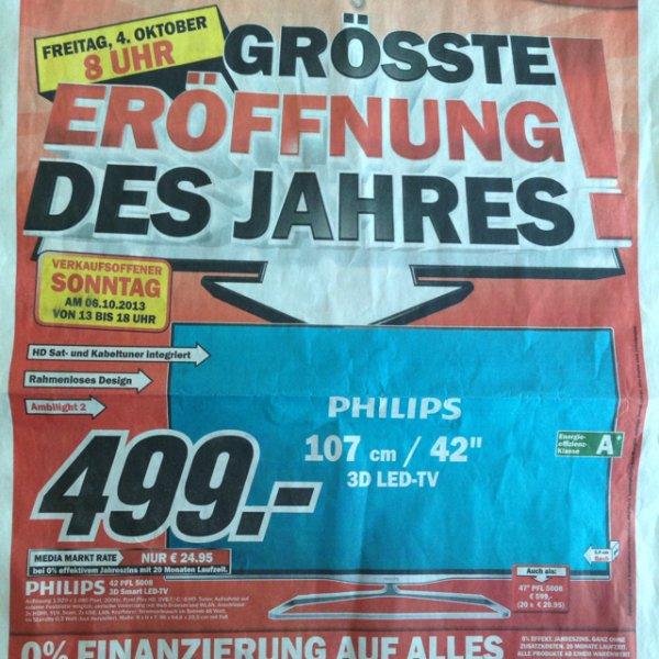 Lokal: MM Plauen: Philips 47PFL5008 3D LED TV