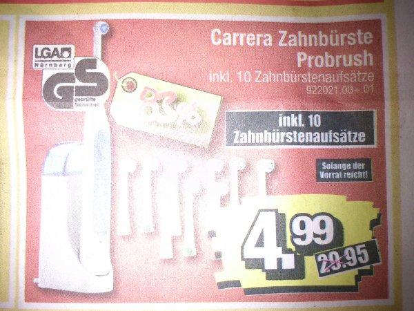 Lokal Dessau SB-Möbel Boss Carrera Zahnbürste Probrush 4,99EUR