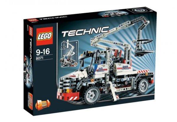 Wieder da: LEGO Service Truck 8071 für 30€, lokal Rossmann Saalfeld und mit Glück auch noch anderswo