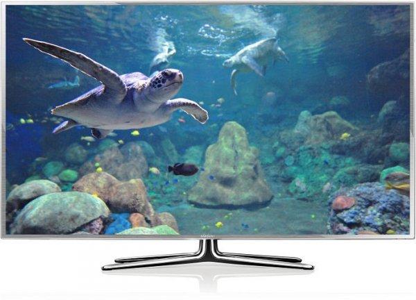 "Samsung UE46ES6990 116cm/ 46"" - 3D LED TV in silbern. Design (Gamescom Model!)"