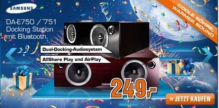 [Saturn Online] Samsung DA-E750/1 Dockingstation für iPhone und Samsung Smartphone 249€