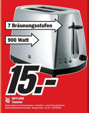 WMF Skyline Toaster 15€! @ Media Markt Hamburg