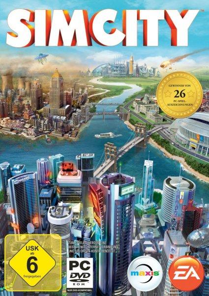 SimCity für 21,97 EUR und 2 Add-Ons gratis erhalten @ Amazon