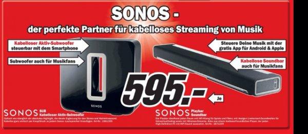 Sonos Playbar / Sonos Sub je 595 @ MM Wi