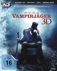 [Amazon.de] Immer wieder mal verfügbar: Abraham Lincoln - Vampirjäger 3D (+ Blu-ray + DVD + Digital Copy) für 9,97 €