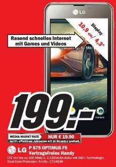 [Media Markt Dresden] - LG Optimus F5
