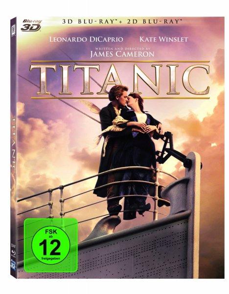 (Lokal ?) - MM Wuppertal - Titanic 3D Blu Ray € 10,00
