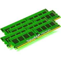16GB Kingston ValueRAM DDR3-1600 Kit regECC, Preis/GB=4,58€ !!