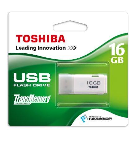 MediaMarkt Online TOSHIBA Transmemory 16GB USB 2.0 Stick weiß Versandkostenfrei