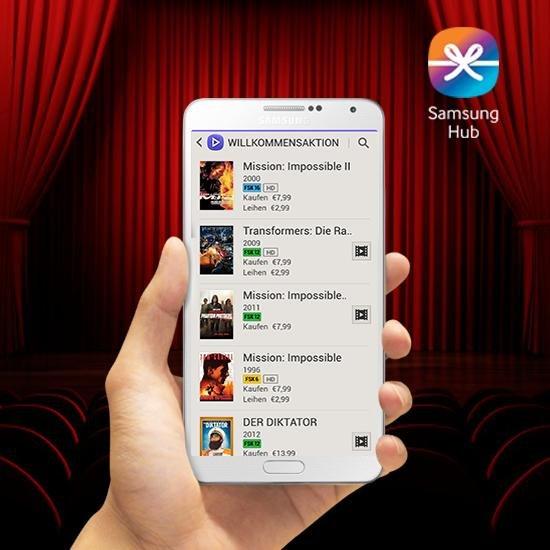Samsung Video Hub Film-Gutschein Gratis
