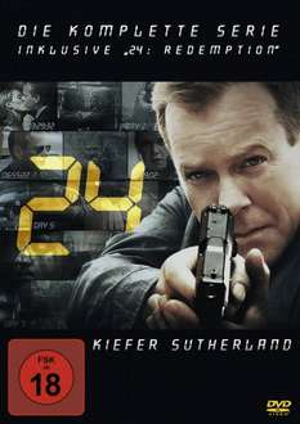 """24 - Die komplette Serie inklusive """"24: Redemption"""" für 49 €"""