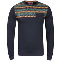Osaka Men's Pattern Crew Neck Sweat - Navy 12,19 € inklusive Versand
