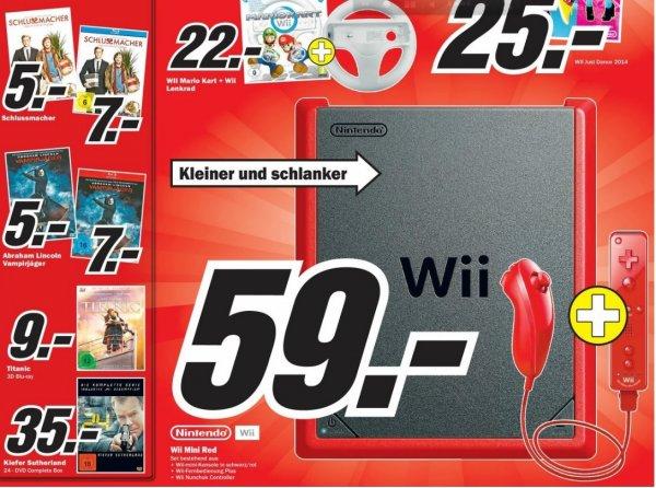 [MM Jena] 24 - Komplette Serie 35 € + Wii mini 59 €
