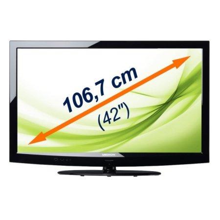 """Medion 42"""" LED Full HD TV LIFE X17006 mit HD Triple Tuner für nur 364,- EUR inkl. Lieferung"""