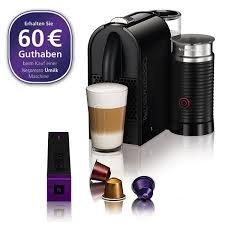 Media Markt-Hamburg Nespresso Kapselmaschine UMilk inkl. 60€ Guthaben für 129€